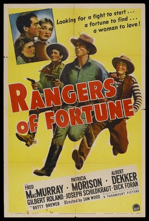Rangers of Fortune - Movie Poster (thumbnail)