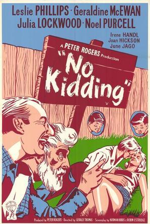 No Kidding - British Movie Poster (thumbnail)