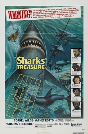 Sharks' Treasure - Movie Poster (thumbnail)