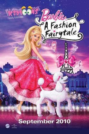 Barbie: A Fashion Fairytale - Movie Poster (thumbnail)