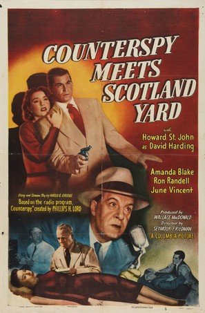 Counterspy Meets Scotland Yard - Movie Poster (thumbnail)