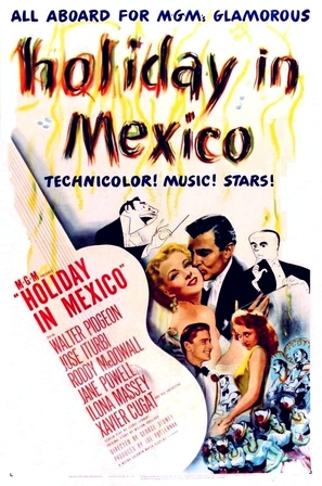 Holiday in Mexico - Movie Poster (thumbnail)