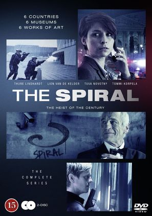 """""""The Spiral"""" - Danish Movie Cover (thumbnail)"""