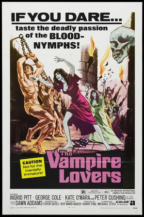The Vampire Lovers - Theatrical movie poster (thumbnail)