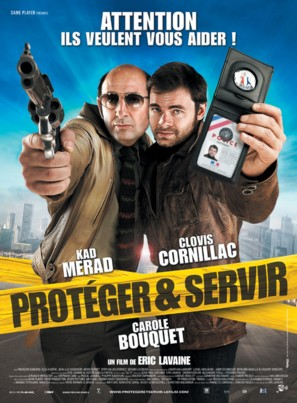 Protéger et servir - French Movie Poster (thumbnail)