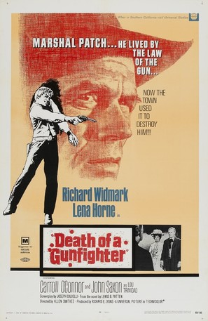 Death of a Gunfighter - Movie Poster (thumbnail)