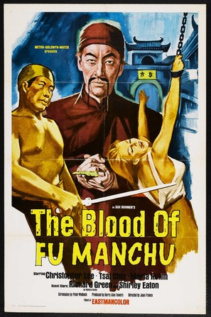 The Blood of Fu Manchu - Movie Poster (thumbnail)