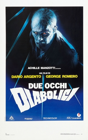 Due occhi diabolici - Italian Movie Poster (thumbnail)