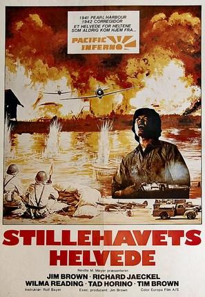 Pacific Inferno - Danish Movie Poster (thumbnail)