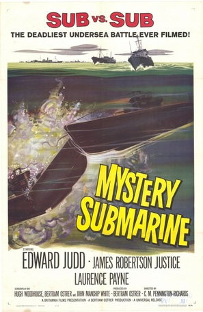Mystery Submarine - Movie Poster (thumbnail)