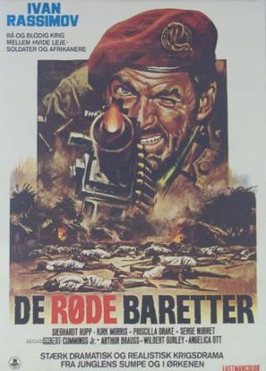 Sette baschi rossi - Danish Movie Poster (thumbnail)