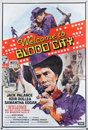 Welcome to Blood City - British Movie Poster (thumbnail)