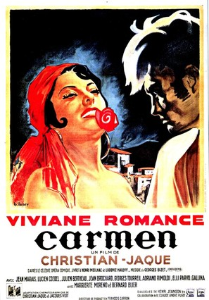Carmen - French Movie Poster (thumbnail)