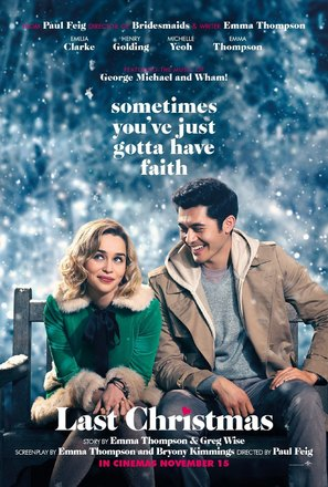 Last Christmas - British Movie Poster (thumbnail)