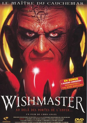 Wishmaster 3: Beyond the Gates of Hell - French DVD movie cover (thumbnail)