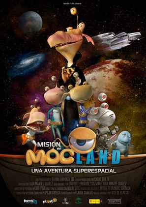 Misión en Mocland - Una aventura super espacial - Spanish Movie Poster (thumbnail)