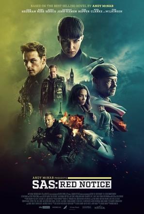 SAS: Red Notice - British Movie Poster (thumbnail)