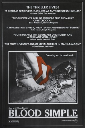 Blood Simple - Movie Poster (thumbnail)