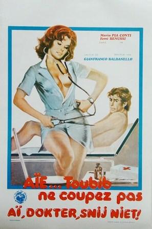 Che dottoressa ragazzi - Belgian Movie Poster (thumbnail)