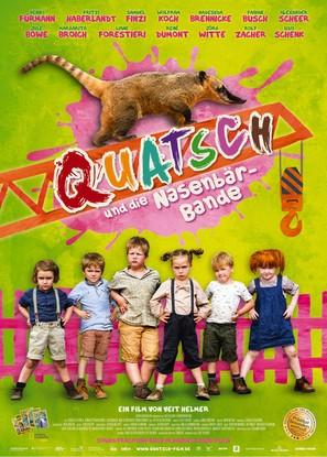 Quatsch und die Nasenbärbande - German Movie Poster (thumbnail)