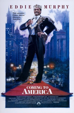 Coming To America - Movie Poster (thumbnail)