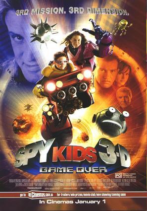 Spy Kids 3 - Movie Poster (thumbnail)