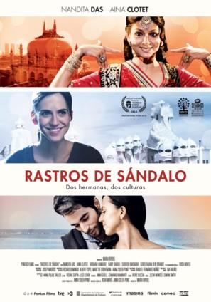 Rastres de sàndal - Spanish Movie Poster (thumbnail)