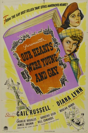 Our Hearts Were Young and Gay - Movie Poster (thumbnail)