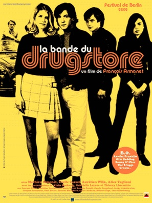 Bande du Drugstore, La - French poster (thumbnail)