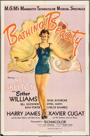 Bathing Beauty - Movie Poster (thumbnail)