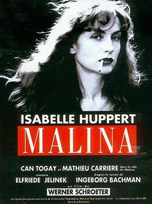 Malina - French Movie Poster (thumbnail)