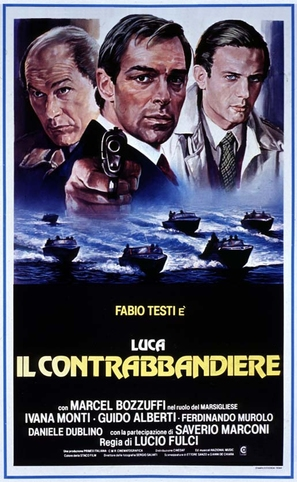 Luca il contrabbandiere - Italian Movie Poster (thumbnail)