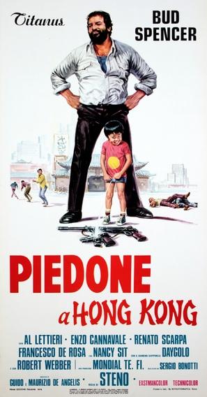 Piedone a Hong Kong - Italian Movie Poster (thumbnail)