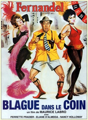 Blague dans le coin - French Movie Poster (thumbnail)