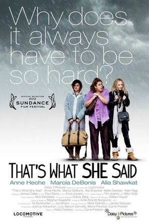 That's What She Said - Movie Poster (thumbnail)