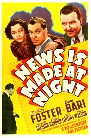 News Is Made at Night - Movie Poster (thumbnail)