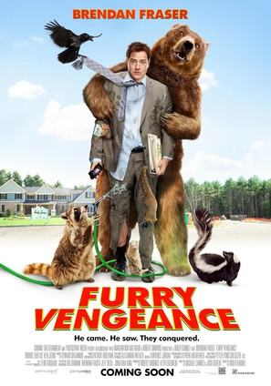 Furry Vengeance - Movie Poster (thumbnail)