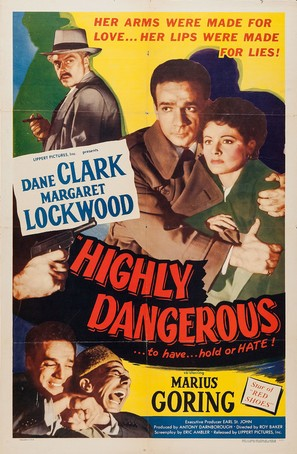 Highly Dangerous - Movie Poster (thumbnail)