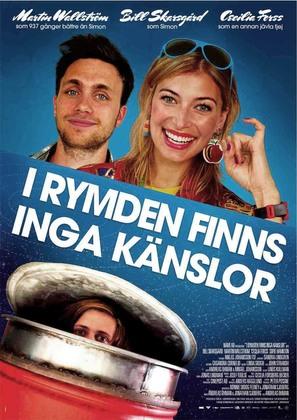 I rymden finns inga känslor - Swedish Movie Poster (thumbnail)