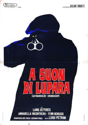 A suon di lupara - Italian Movie Poster (thumbnail)