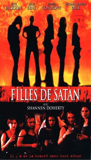Satan's School for Girls - French VHS movie cover (thumbnail)