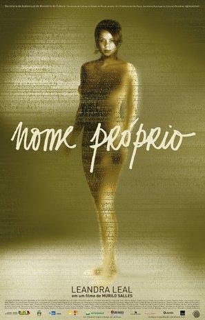 Nome Próprio - Brazilian Movie Poster (thumbnail)