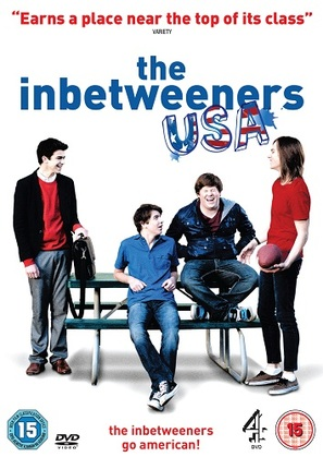 """The Inbetweeners"" - British DVD movie cover (thumbnail)"