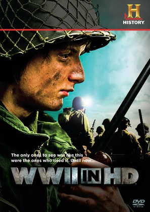 """WWII in HD"" - DVD movie cover (thumbnail)"