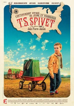 L'extravagant voyage du jeune et prodigieux T.S. Spivet - French Movie Poster (thumbnail)