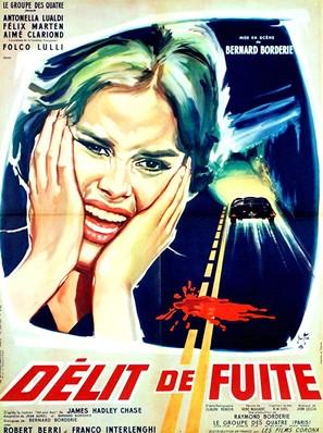 Délit de fuite - French Movie Poster (thumbnail)