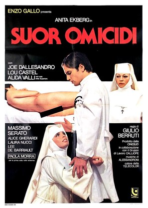 Suor Omicidi - Italian Movie Poster (thumbnail)