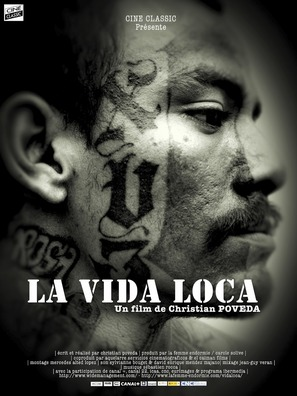 La vida loca - French Movie Poster (thumbnail)