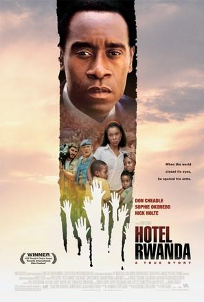 Hotel Rwanda - Theatrical movie poster (thumbnail)