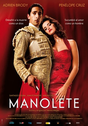 Manolete - Spanish Movie Poster (thumbnail)
